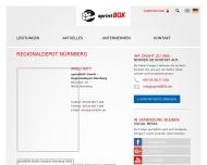Bild sprintBOX GmbH – Regionaldepot Nürnberg