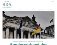 Website BDS/DGV-Berlin - Bundesverband der Selbständigen
