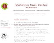 Website Naturheilpraxis Traudel Engelhard