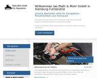 Bild Webseite Plath + Mohr Hamburg