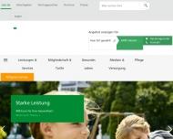 Website AOK - Die Gesundheitskasse in Hessen