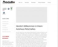 Bild Webseite Volkswagen AH Petschallies Hamburg