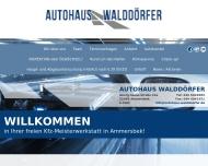 Bild Webseite Autohaus Walddörfer Theo Dewath Hamburg