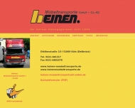 Bild Heinen Möbeltransporte GmbH & Co. KG