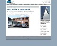 Bild Webseite Fritz Noack und Sohn Hamburg