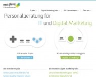 Website next level IT-Personalberatung