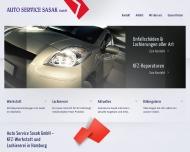 Bild Webseite Auto Service Sasak Hamburg