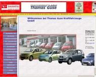Bild Webseite DAIHATSU in Altona Autohaus Hamburg