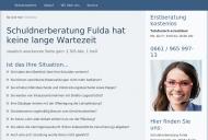 Website Schuldnerberatung Fulda - Schuldner & Insolvenzberatung