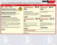 Bild Webseite Speedy Auto-Service Lübeck