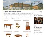 Bild Webseite Möbelhaus Arte Povera Nürnberg