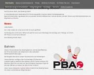 Website Das Bowling Studio
