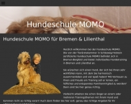 Website Hundeschule MOMO