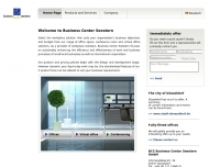 Website BCS Business Center Seestern