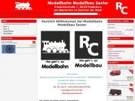 Bild Modellbahn Modellbau Sester, Inhaber Robert Prior