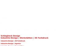 Schlagheck Design Industrie-Design Werkst?tten 3D Farbdruck