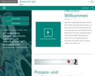 Bild Webseite Papenmeier Köln