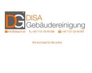 Bild Webseite DISA Gebäudereinigung Heilbronn