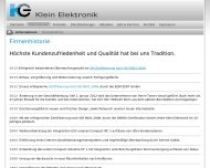 Bild Klein Elektronik GmbH
