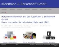 Bild Kussmann & Berkenhoff GmbH
