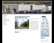 Bild Webseite Martin Günther Metallverarbeitung Netphen