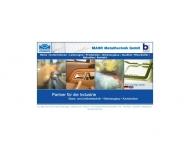 Bild Webseite Mahr Metalltechnik Nürnberg