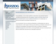Website Herzog Metallbau