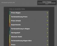 Bild Webseite  Binz