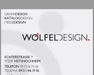Bild Wölfel Design Hans Jürgen Wölfel Dipl.-Kommunikationsdesigner Büro für Kommunikationsdesign