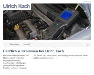 Bild Webseite Koch Ulrich Service rund um's Auto u. Reparaturen Riede