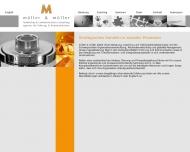Bild Webseite müller&müller agentur für führung und kommunikation Köln