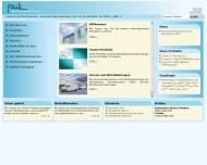 Bild Webseite Andreas Fahl Medizintechnik-Vertrieb Köln