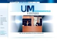Bild Webseite Medizinische Systeme Dr. Muschaweck München