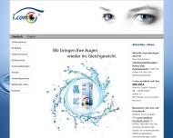 Bild Webseite i.com medical München