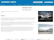 Website Aumunder Autohaus Schmidt + Koch