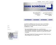 Bild Schröder GmbH Hans Mechanische Werkstatt