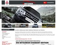 Bild Webseite Baetzner Heinz E. Mitsubishi Vertragshändler Bremen