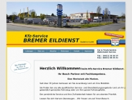 Bild Webseite Kfz-Service Bremer Eildienst Bremen