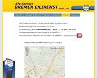 Website Kfz-Service Bremer Eildienst