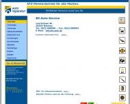 Bild Webseite B. S. Autoservice Reinhard Schietke Bremen