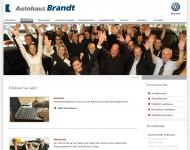 Website Autohaus Brandt