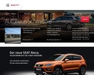 Bild Webseite Schmidtke Hubert Seat-Vertragshändler Bremen
