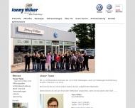 Website Jonny Hilker