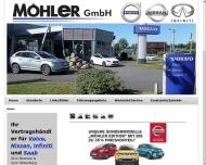 Bild Webseite Volker Möhler Bremen