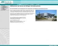 Bild Webseite Kania & Edinger Blomberg