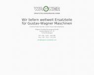 Website WAGNER Ersatzteilversorgung