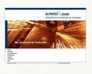Bild ALPHATEC GmbH Ing.Büro Maschinenbau, Anlagentechnik, Programmierung