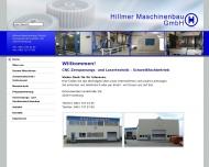 Bild Hillmer Maschinenbau GmbH Maschinenbau