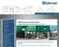 Bild Webseite Flensburger Maschinenbau-Anstalt Ullrich Flensburg