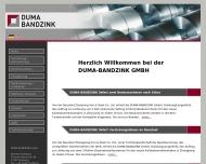 Bild Webseite DUMA Maschinen und Anlagenbau Duisburg